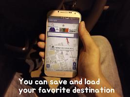 Screenshot of Destination Alarm :[GPS Alarm]