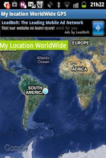 My Location WorldWide GPS - screenshot thumbnail
