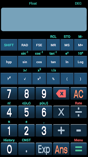 AJ's Scientific Calculator