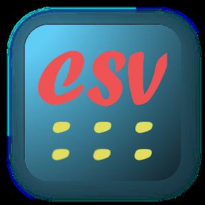 CSV editor