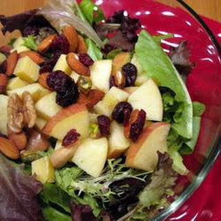 Fruit and Nut Salad.