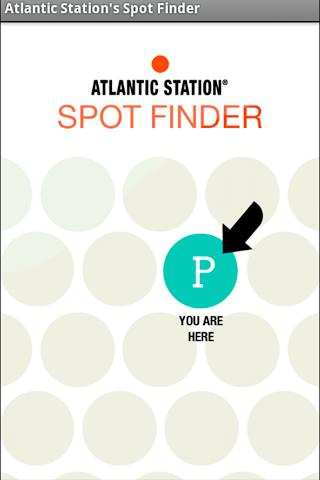 Atlantic Station's Spot Finder- screenshot