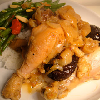 Bay-Scented Chicken with Figs