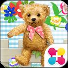 可愛主題 與泰迪熊野餐 icon