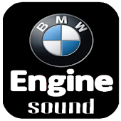 Engine sound of BMW