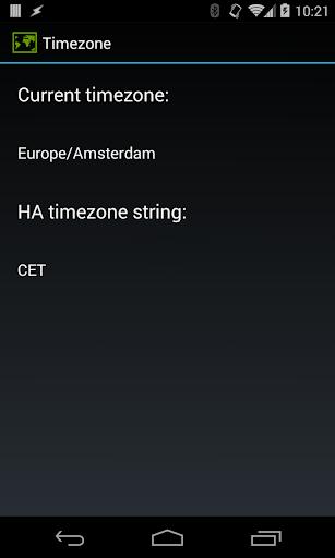 timezone test
