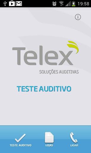 Teste Auditivo – Telex