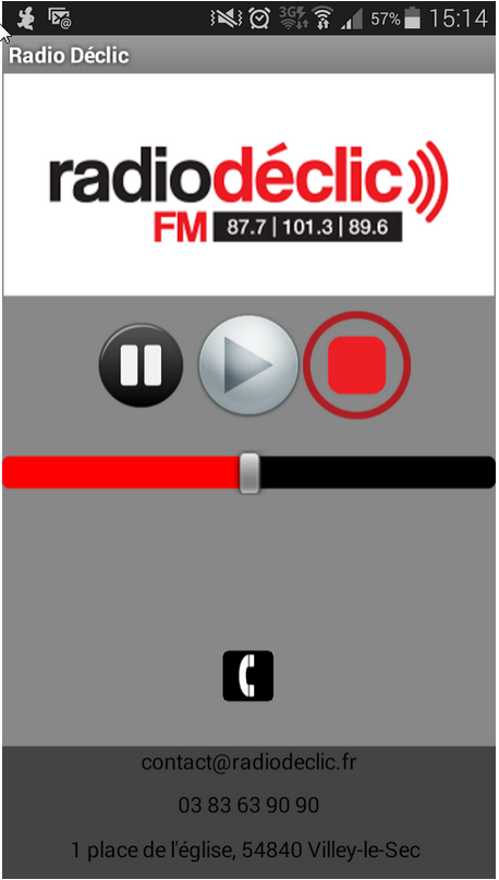 Radio Declic- screenshot