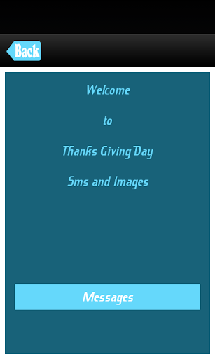 Thanks Giving Day SMS Messages