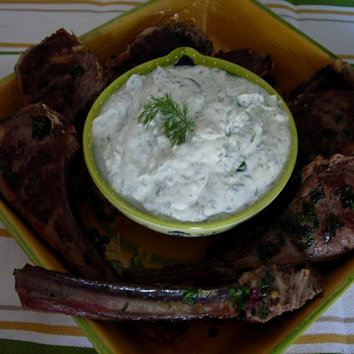 Feta and Herb Dipping Sauce