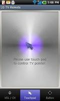Screenshot of LG TV Remote 2011