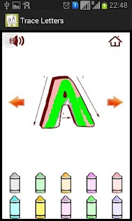 Trace Letters- screenshot thumbnail