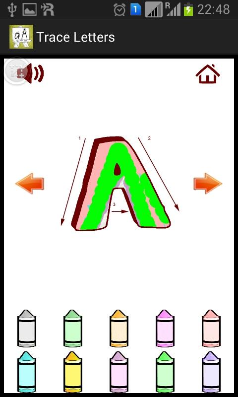 Trace Letters- screenshot
