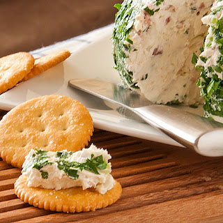Bacon and Green Onion Cheese Ball.