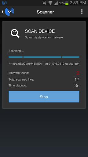 صور برنامج انتي فيرس للاندرويد مالوير Malwarebytes Anti-Malware