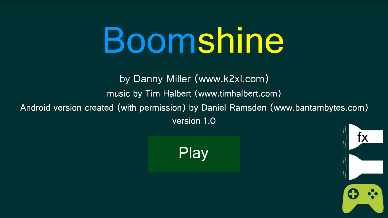 Boomshine- screenshot