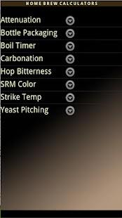 Home Brew Calculators- screenshot thumbnail