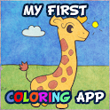 My first coloring app logo