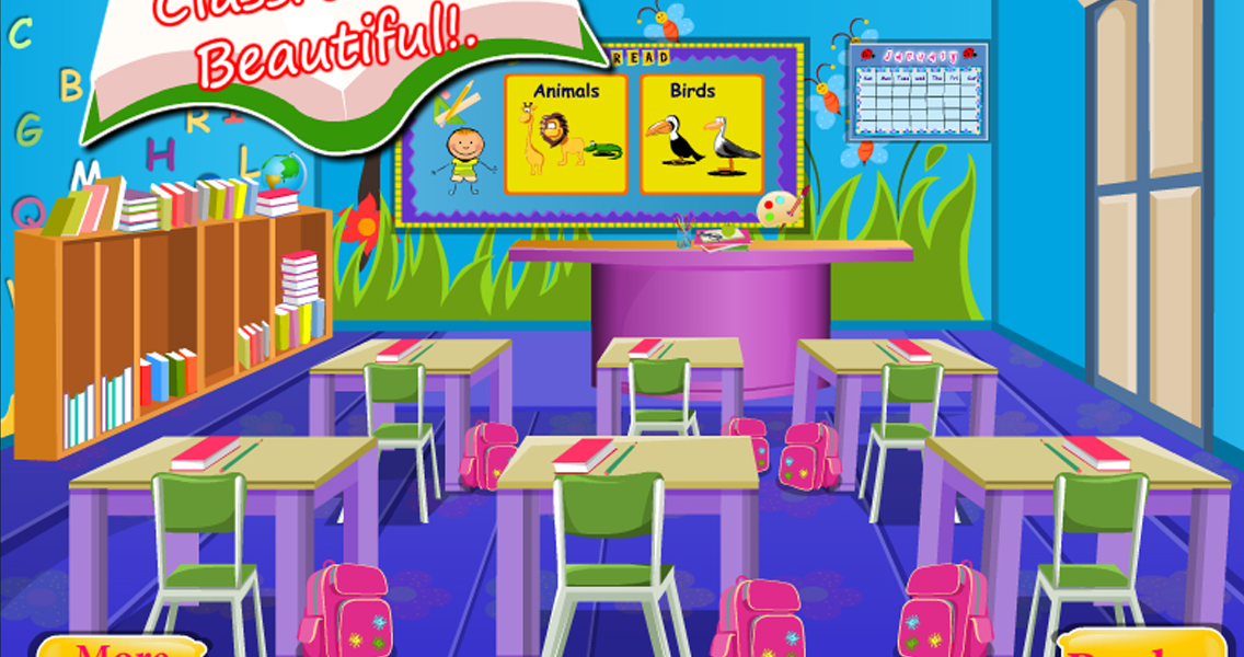 School Classroom Decor Games : Kids classroom decoration android apps on google play