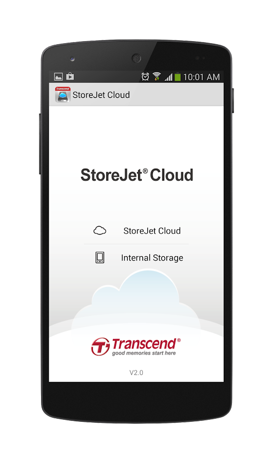 StoreJet Cloud 10K- screenshot