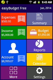 easyBudget : Expense Tracker