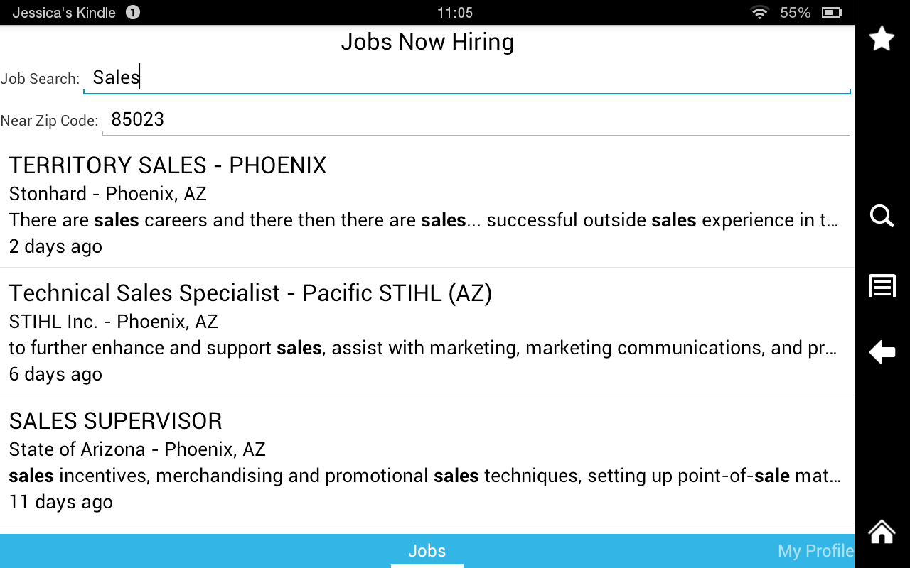 jobs now hiring android apps on google play jobs now hiring screenshot