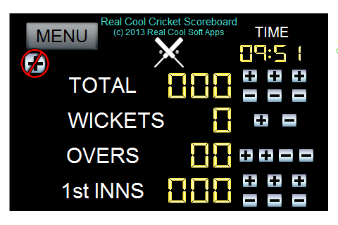 Real Cool Cricket Scoreboard
