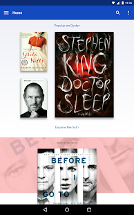 Oyster – Read Unlimited Books - screenshot thumbnail