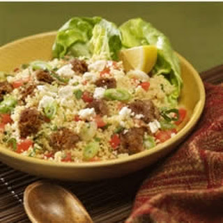 Tabbouleh-Style Couscous with Veggie Burgers