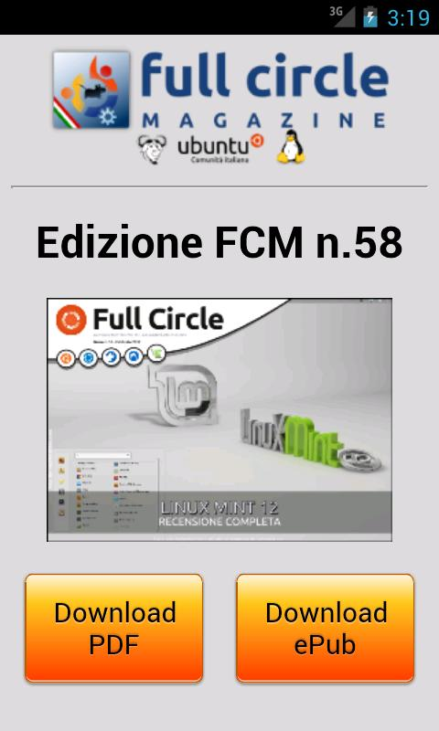 FCM Italia Mobile - screenshot