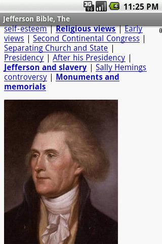 The Jefferson Bible - screenshot