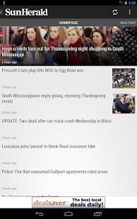 Biloxi Sun-Herald Newspaper - screenshot thumbnail