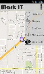 Mark  IT - GPS - screenshot thumbnail
