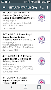 Jntu Fast Updates- screenshot thumbnail