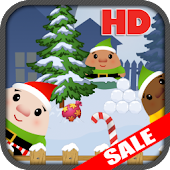 Santas Elf Snow Fight Nexus 7