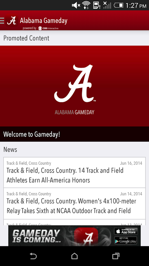 Alabama Gameday LIVE - screenshot