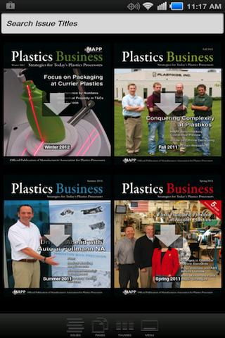 Plastics Business Magazine- screenshot