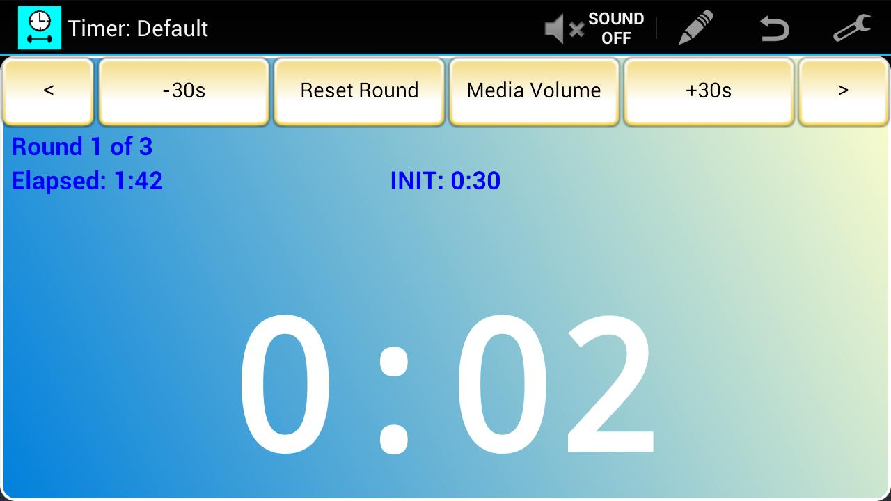 Workout Timer (Free) - screenshot