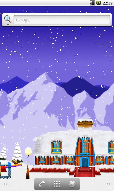 Christmas Live Wallpaper- screenshot