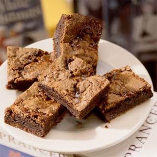 Easy Chocolate-Caramel Brownies.