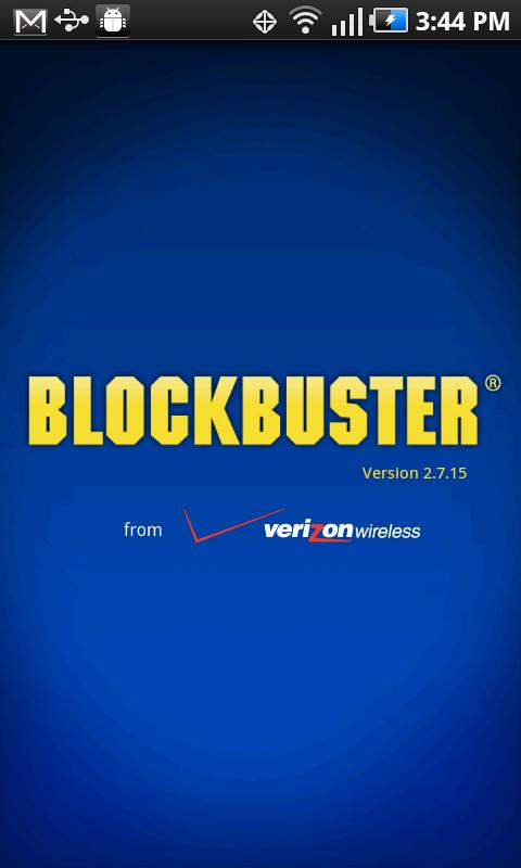 Blockbuster for Motorola - screenshot