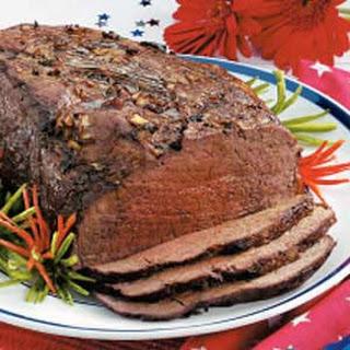 Yankee-Doodle Sirloin Roast