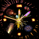 Rocket Diwali Clock icon
