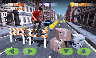 Screenshot of Street Skater 3D