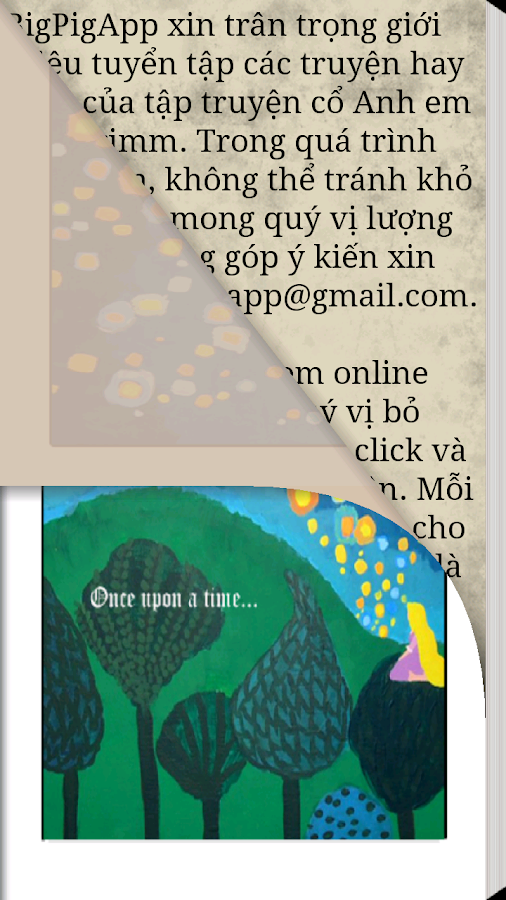 Grimm's story - Book- screenshot