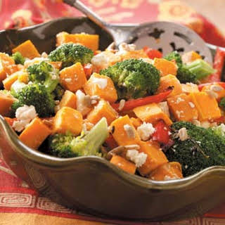 Broccoli & Sweet Potato Salad.