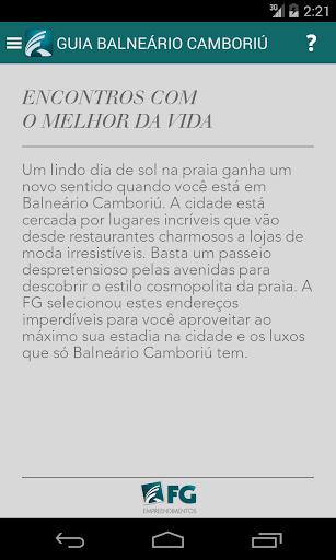 Guia Balneário Camboriú