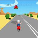 vespa driver icon