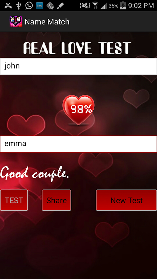 Real Love Test Calculator - Android Apps on Google Play