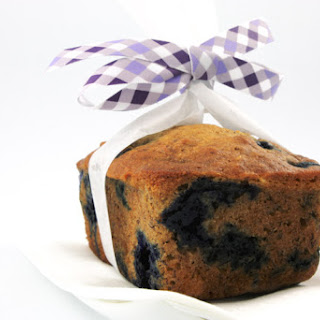 Blueberry Muffins & Blueberry Banana & Walnut Loaf Recipe